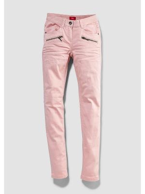 Джинсы S.OLIVER. Цвет: розовый