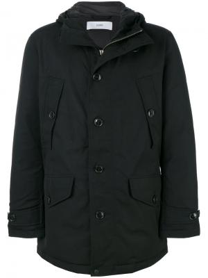 Куртка с капюшоном Closed. Цвет: чёрный