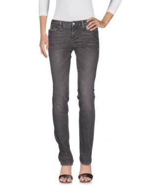 Джинсовые брюки D-21. Цвет: какао