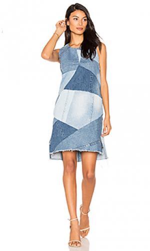 Платье с мозаичным рисунком PRPS Goods & Co. Цвет: none