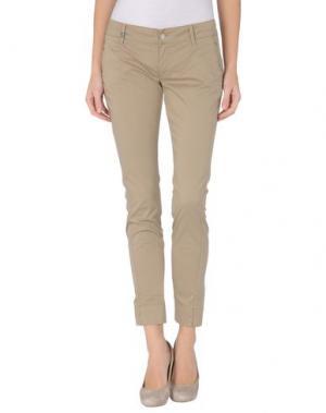Повседневные брюки MET & FRIENDS. Цвет: бежевый