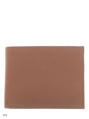 Кошелек United Colors of Benetton. Цвет: коричневый