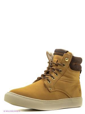 Ботинки Francesco Donni. Цвет: желтый