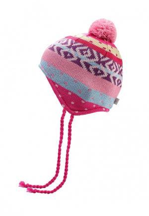 Шапка Maxval. Цвет: розовый