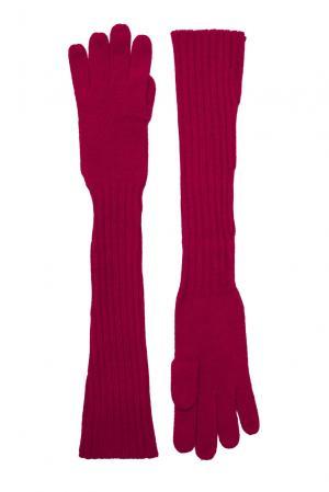Кашемировые перчатки 143556 Barbaro Brunelli. Цвет: красный