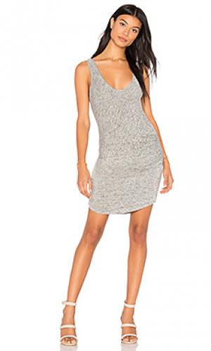 Платье-майка viv Riller & Fount. Цвет: серый