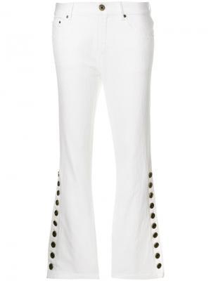 Расклешенные брюки в стиле ретро Chloé. Цвет: белый