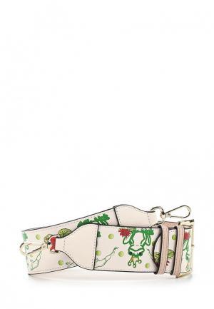 Ремень для сумки Cromia. Цвет: бежевый