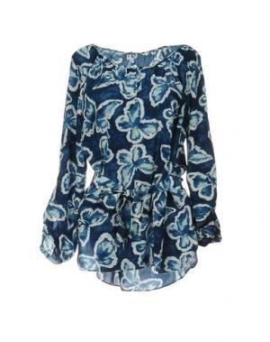 Блузка GERARD DAREL. Цвет: синий