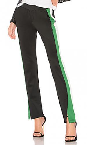 Спортивные брюки microscuba Pam & Gela. Цвет: черный