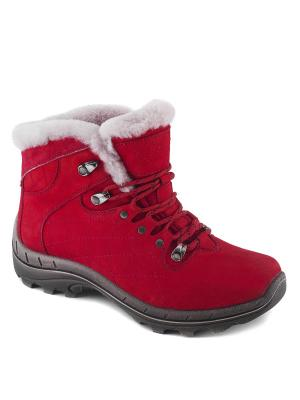 Ботинки S-TEP. Цвет: красный