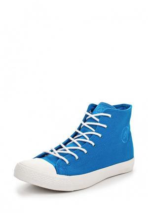 Кеды Affex. Цвет: голубой