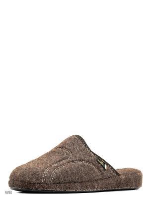 Тапочки Spesita. Цвет: коричневый