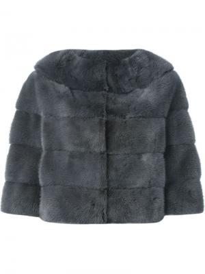 Куртка Alessandra Liska. Цвет: серый