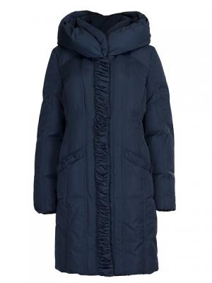 Пальто HAGENSON. Цвет: синий