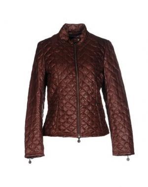 Куртка INGRAM. Цвет: коричневый