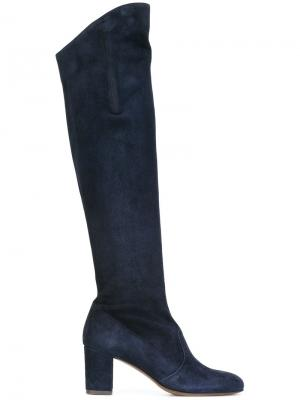 Высокие сапоги LAutre Chose L'Autre. Цвет: синий