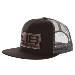 Бейсболка с сеткой  Full Service Trucker Black Lib Tech. Цвет: черный,серый