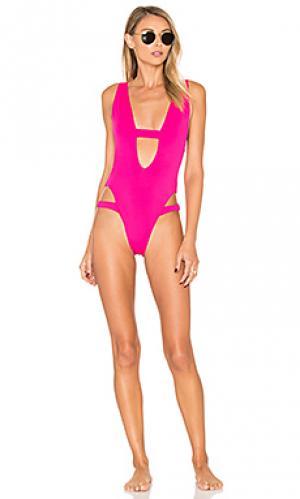 Слитный купальник kobi KOPPER & ZINK. Цвет: розовый
