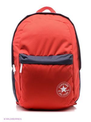 Рюкзак CTAS Backpack Converse. Цвет: красный