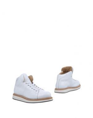 Полусапоги и высокие ботинки CAPPELLETTI. Цвет: белый