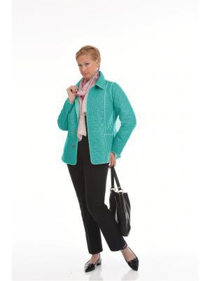 Куртка Мариба Notte Bianca. Цвет: бирюзовый