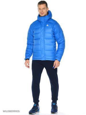 Пуховик Climaheat Frostheld Adidas. Цвет: синий, лазурный