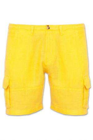 Шорты BLUEMINT. Цвет: желтый