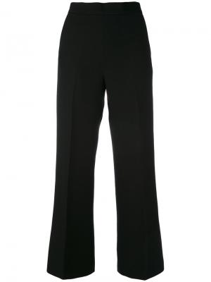 Широкие брюки Fendi. Цвет: чёрный