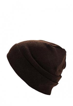 Шапка Check Ya Head. Цвет: коричневый