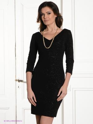 Платье MELANY. Цвет: черный