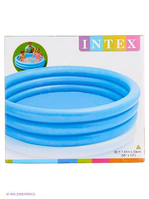 Бассейн  Кристалл Intex. Цвет: голубой