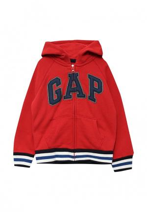 Толстовка Gap. Цвет: красный