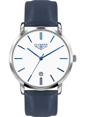 Часы 33 ELEMENT. Цвет: белый, синий, серебристый