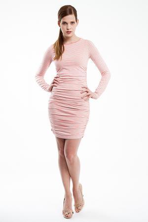 Платье Baukjen. Цвет: розовый