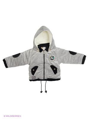 Куртка Happy Bear. Цвет: темно-серый