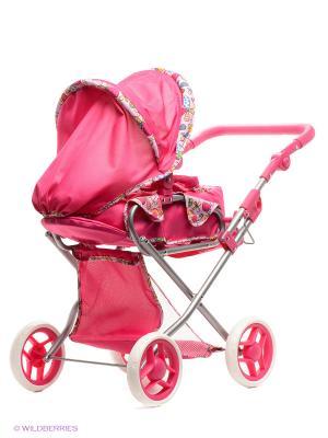 Коляска для кукол Mami. Цвет: фуксия, розовый
