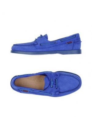 Мокасины SEBAGO DOCKSIDES. Цвет: ярко-синий