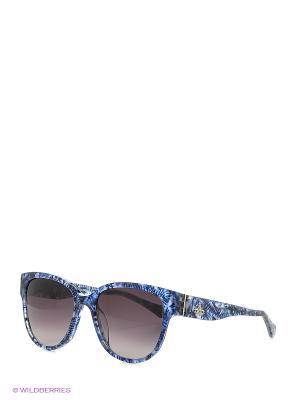 Солнцезащитные очки VW 833S 03 Vivienne Westwood. Цвет: голубой