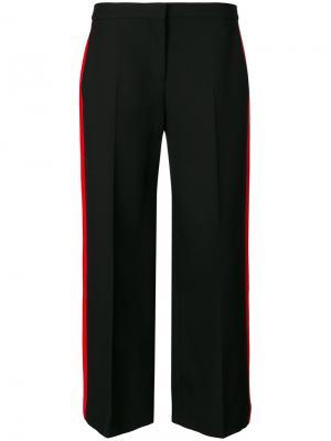 Укороченные брюки с полосками  Alexander McQueen 491475QJJ0912272878