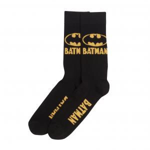 2 пары носков BATMAN. Цвет: черный/ желтый