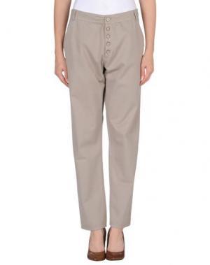 Повседневные брюки TUA NUA. Цвет: серый