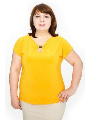 Блузки Левлада. Цвет: желтый
