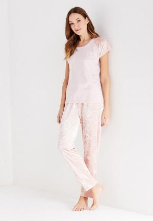 Пижама Dorothy Perkins. Цвет: розовый