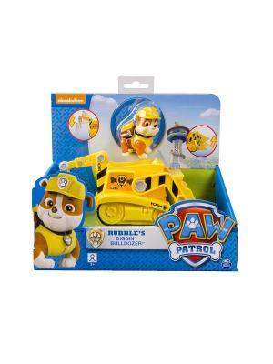 Игрушка Paw Patrol Машинка спасателя и щенок SPIN MASTER. Цвет: желтый