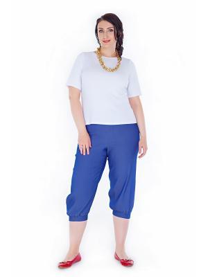 Бриджи Darissa Fashion. Цвет: синий