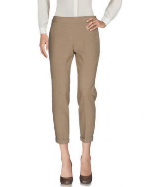 Повседневные брюки FRENCH CONNECTION. Цвет: песочный
