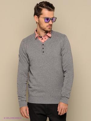 Пуловер Blend. Цвет: серый