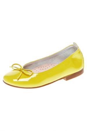 Туфли Eli. Цвет: желтый