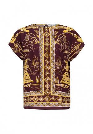 Блуза MAST. Цвет: коричневый
